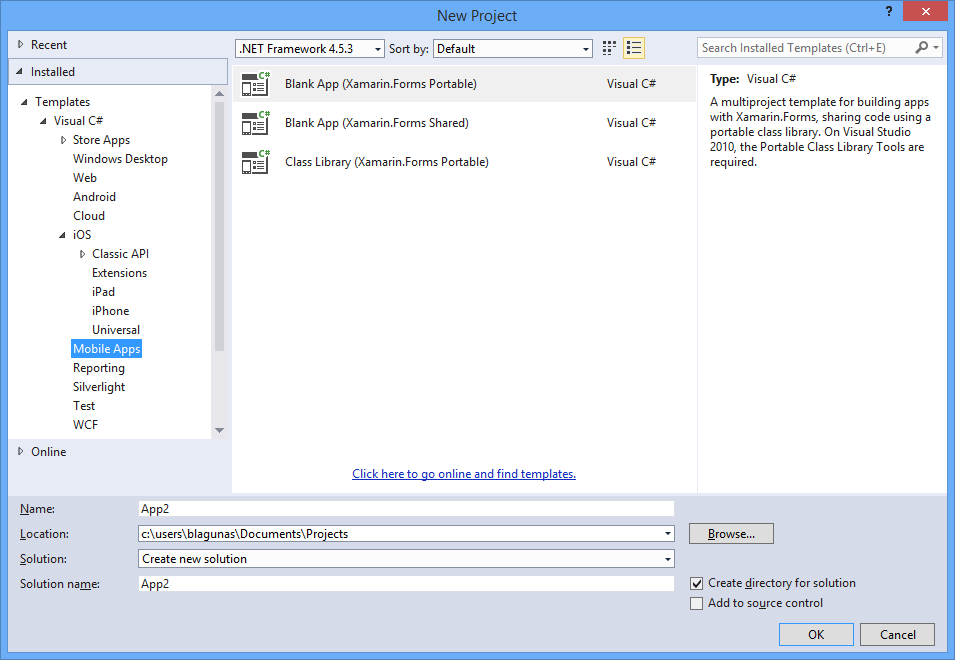 Installing Xamarin for Visual Studio 2015 Preview Side by Side with ...
