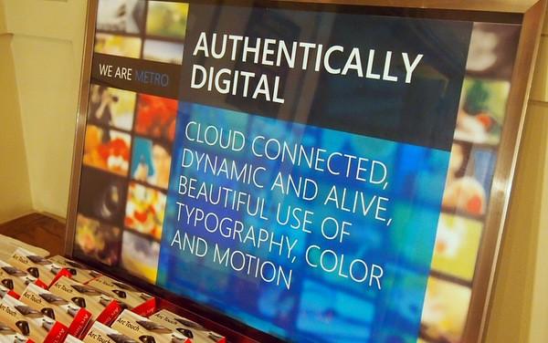 Microsoft Metro  Authentically Digital