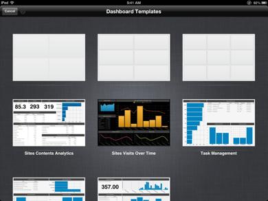 Dashboard Template ReportPlus