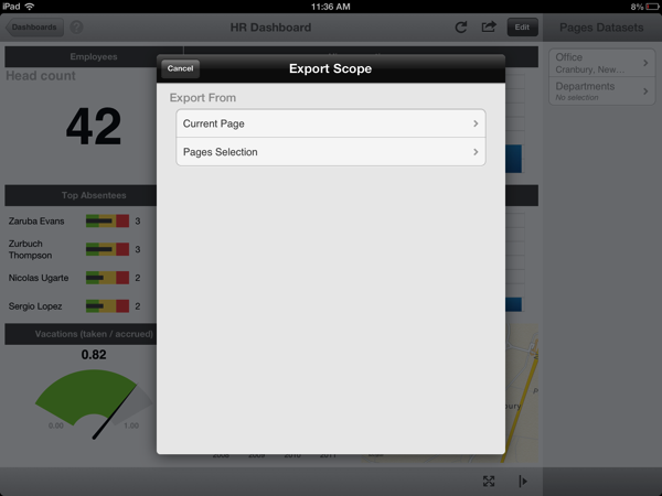 ReportPlus Dashboard Export PPT
