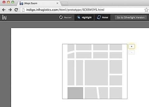 Indigo HTML Prototype Viewer