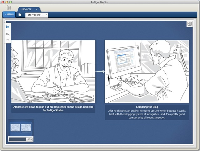 Telling a Story with Indigo Studio Storyboards