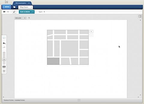 Map Zoom Sample Screenshot