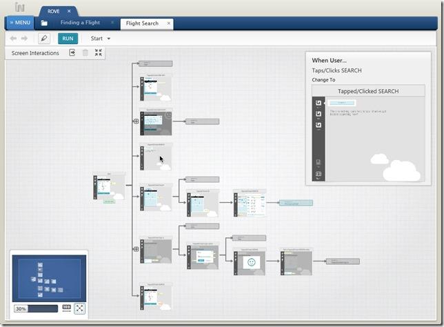 Exploring Screen Interactions in Indigo Studio