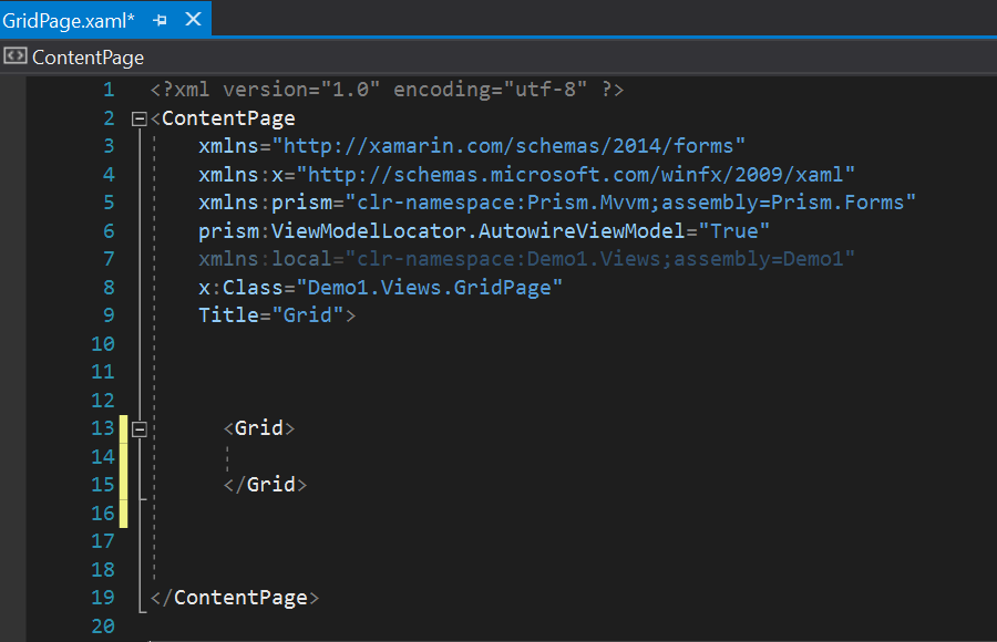 Generate Your Next Xamarin Forms Grid: It's as Easy as Drag