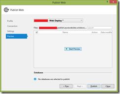 Windows Azure Site Web Deploy