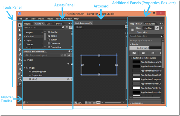 Blend-for-Visual-Studio-Workspace
