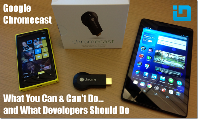 Chromecast Blog Banner