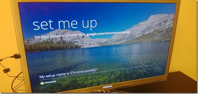 Chromecast Setup 00
