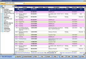 example EHR screenshot