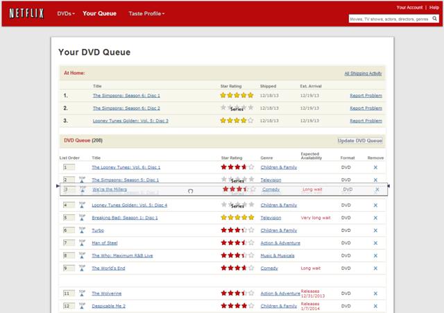 drop order amazons wish list problem design infragisticscom blog
