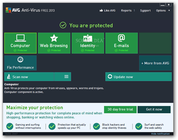 AVG's new Windows 8 style UI (formerly known as Metro). - Design ...