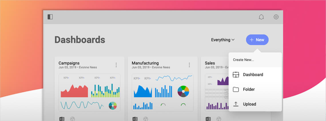 Embedded Business Intelligence Solution | Data Visualization | Reveal