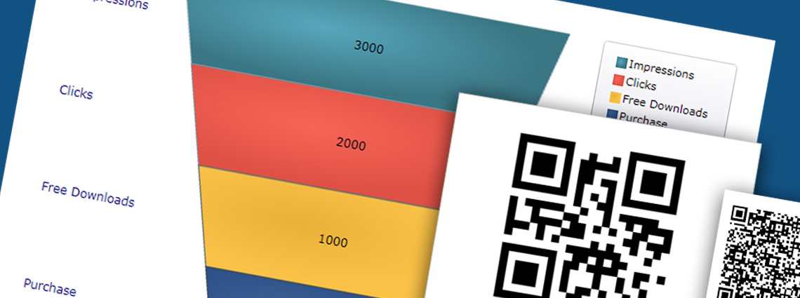Introducing QR Barcodes and Funnel Charts with Ultimate UI for