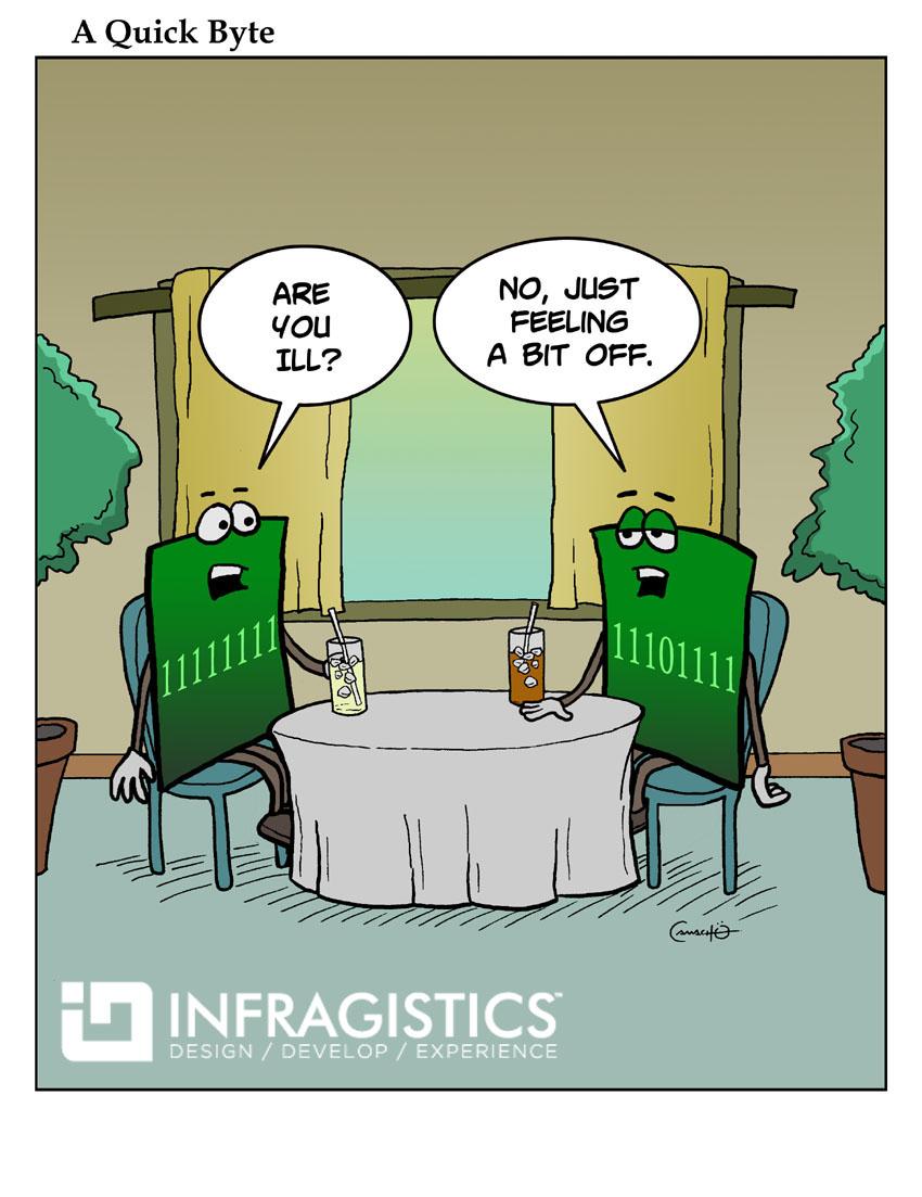Developer Humor A Quick Byte Infragistics Blog