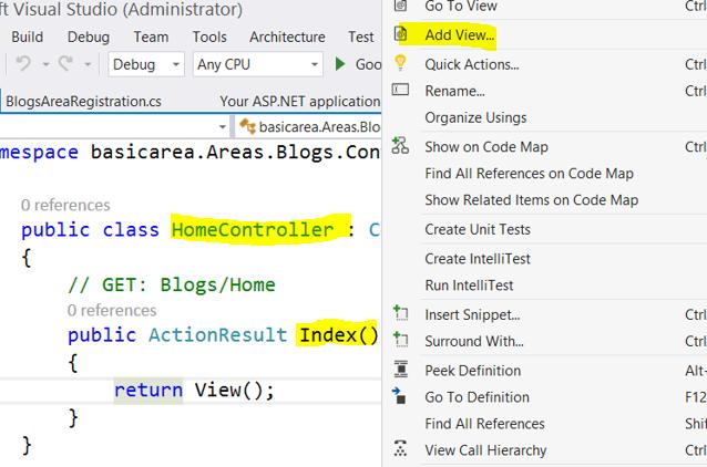 Areas in ASP NET MVC - DZone Web Dev