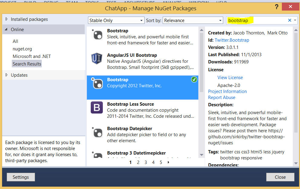 How to create an Azure-based real time Chat Application using