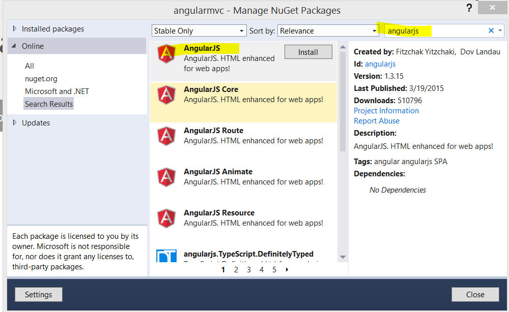 How to use AngularJS in ASP.NET MVC and Entity Framework ...