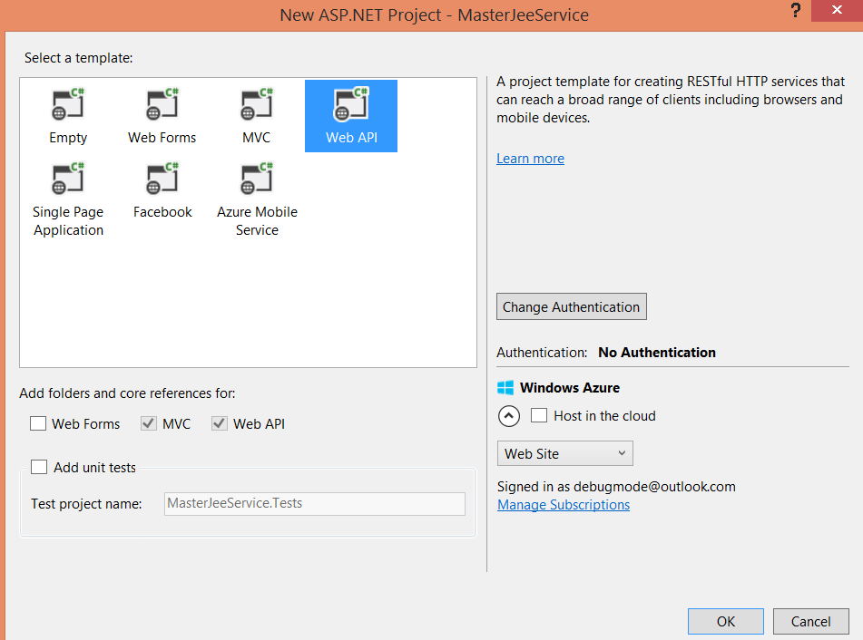 how to create web api in asp.net step by step