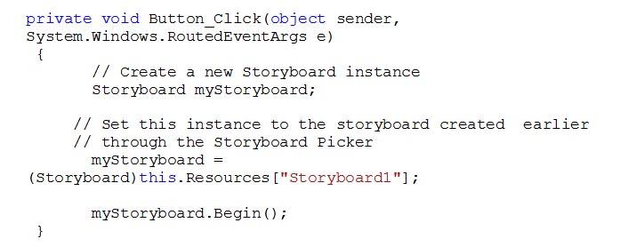 Blend Storyboards - An Introduction | Infragistics Blog