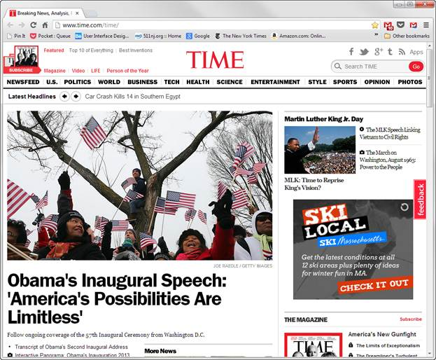 full screen image of time.com