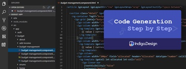 Angular Code Generation - a Step-by-Step Guide using Indigo.Design