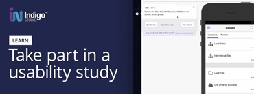 How to Take Part in a Usability Study in Indigo Studio