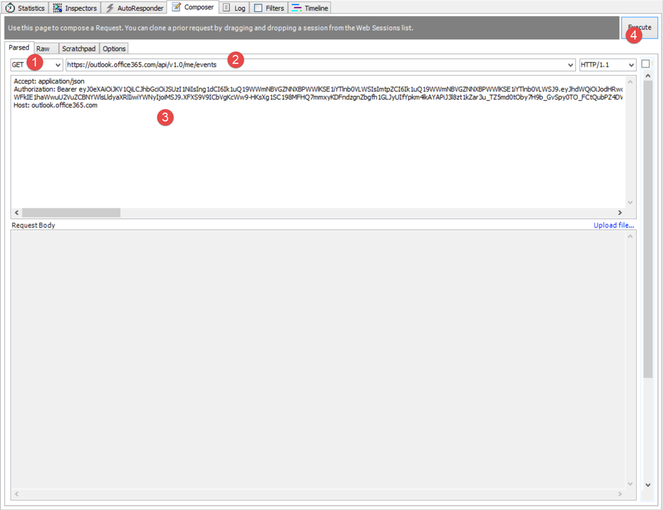 Working with Office 365 REST API with Fiddler   Infragistics