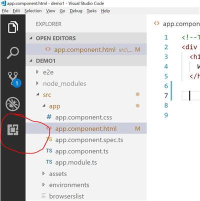 Working with the Ignite UI for Angular Toolbox Extension in