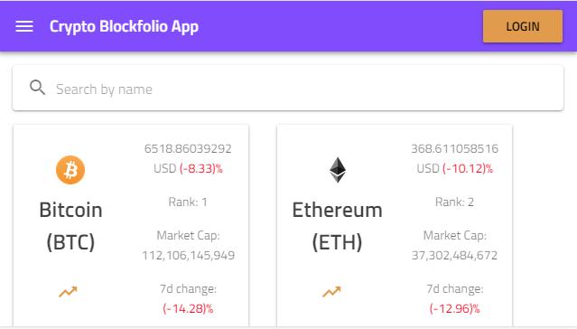 How to Build a Crypto Portfolio App with Ignite UI for