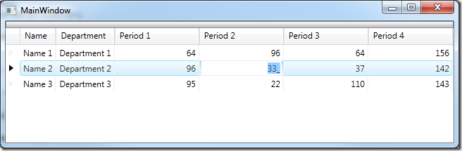 XamDataGrid–Dynamically Create and Data Bind Columns with an Editor