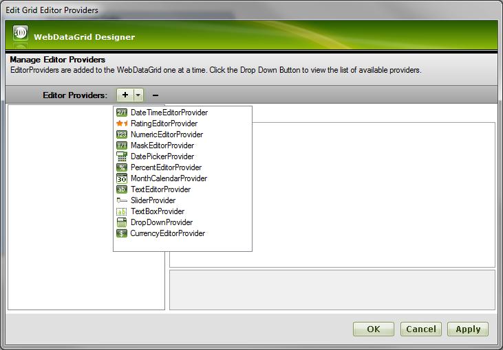 Server Grid Editor