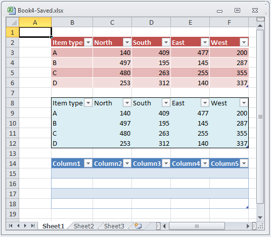 prerequisites a microsoft excel file