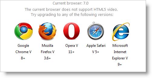 WebVideoPlayer Working with HTML5 Video - Infragistics ASP NET™ Help