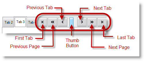 Touch-enabled Tab Controls - Infragistics Windows Forms™ Help