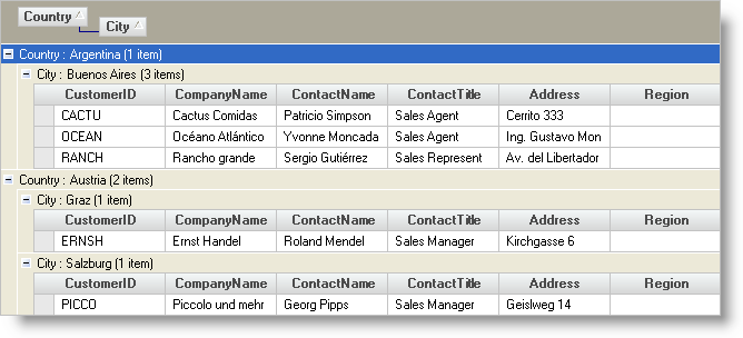 Expanding All Rows in WinGrid - Infragistics Windows Forms™ Help