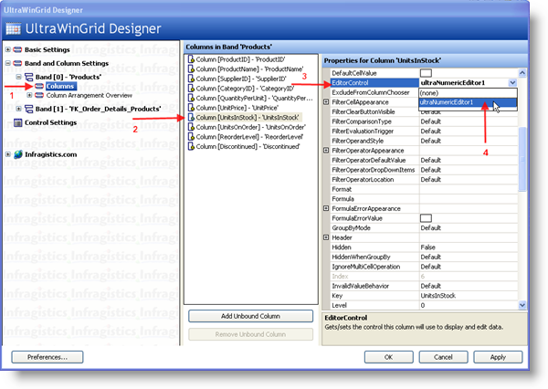 Using Any Windows Forms Control as a Drop Down inside