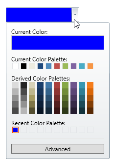 Selected Color - Infragistics WPF™ Help