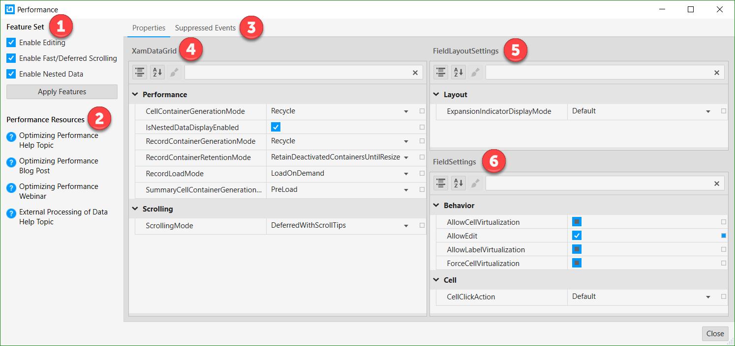 Using Control Configurator with DataGrid - Infragistics WPF