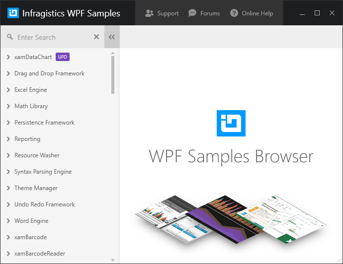 Infragistics WPF Samples - Infragistics WPF™ Help