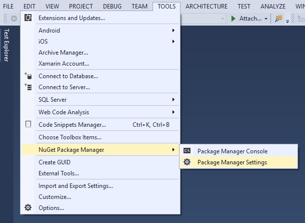 NuGet Feeds - Infragistics WPF™ Help