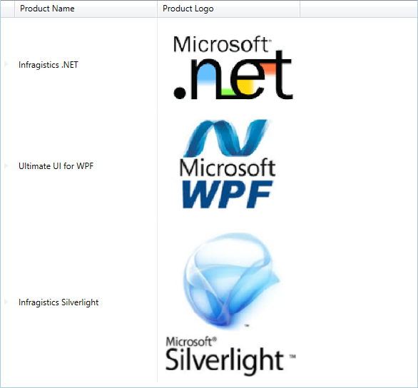 Displaying an Image in a Field - Infragistics WPF™ Help
