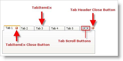 Wpf Tabcontrol Add Close Button How to add a Close button to a WPF
