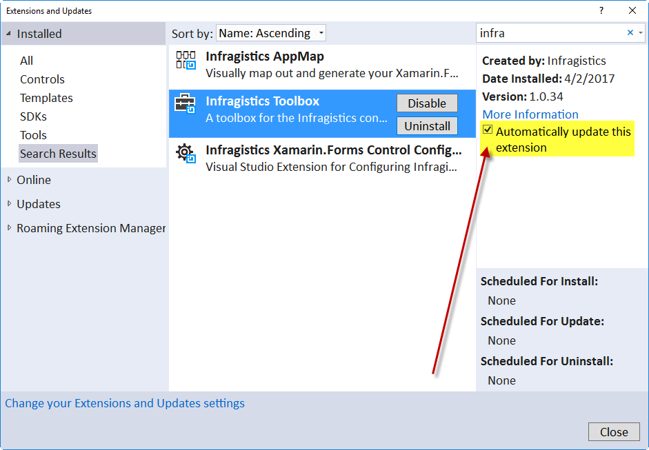 Getting Started with Infragistics Toolbox - Infragistics Xamarin