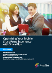 Optimizing Sharepoint Expereince