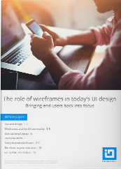 Role of wireframes