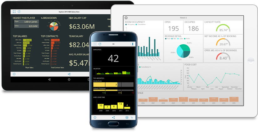 Mobile Dashboarding Power with ReportPlus