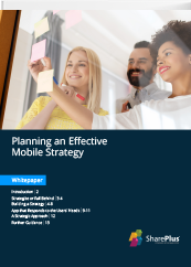 Planning an Effective Mobile Strategy