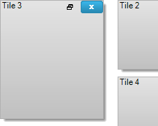 Add or remove tiles programmatically at run-time to dynamically change the tiles seen by your users.