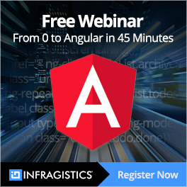 Free Webinar From Zero to Angular in 45 Minutes